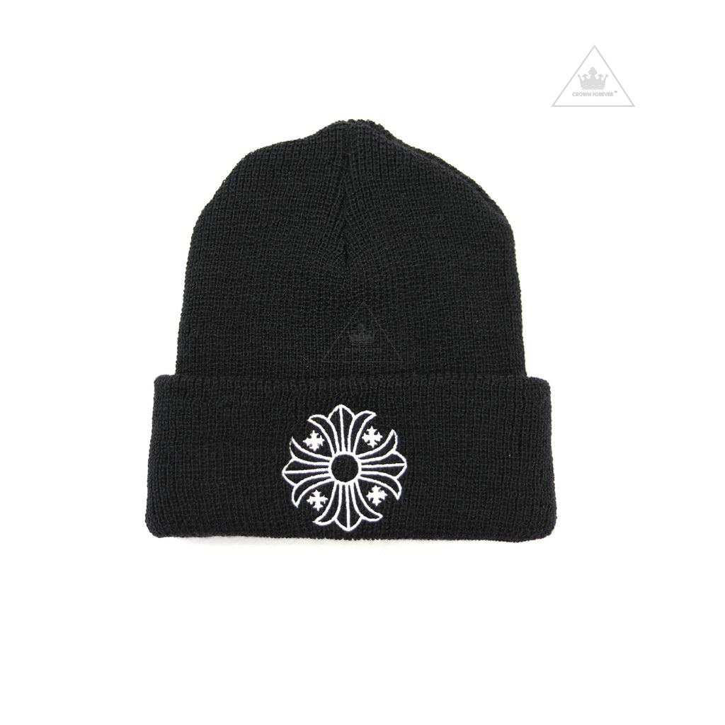 Chrome Hearts Plus Cross Wool Beanie