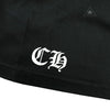 Chrome Hearts 3RS Logo Black