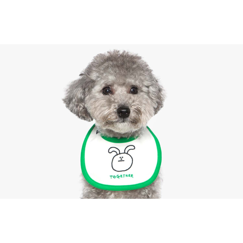 Woof by Betters Barrels x Napis Square Baby Color Bib (TOGETHER)