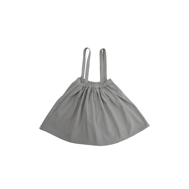 Donsje Emma Skirt Iron Grey Cotton