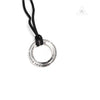 Chrome Hearts CH O Ring Pendant with Braided Necklace