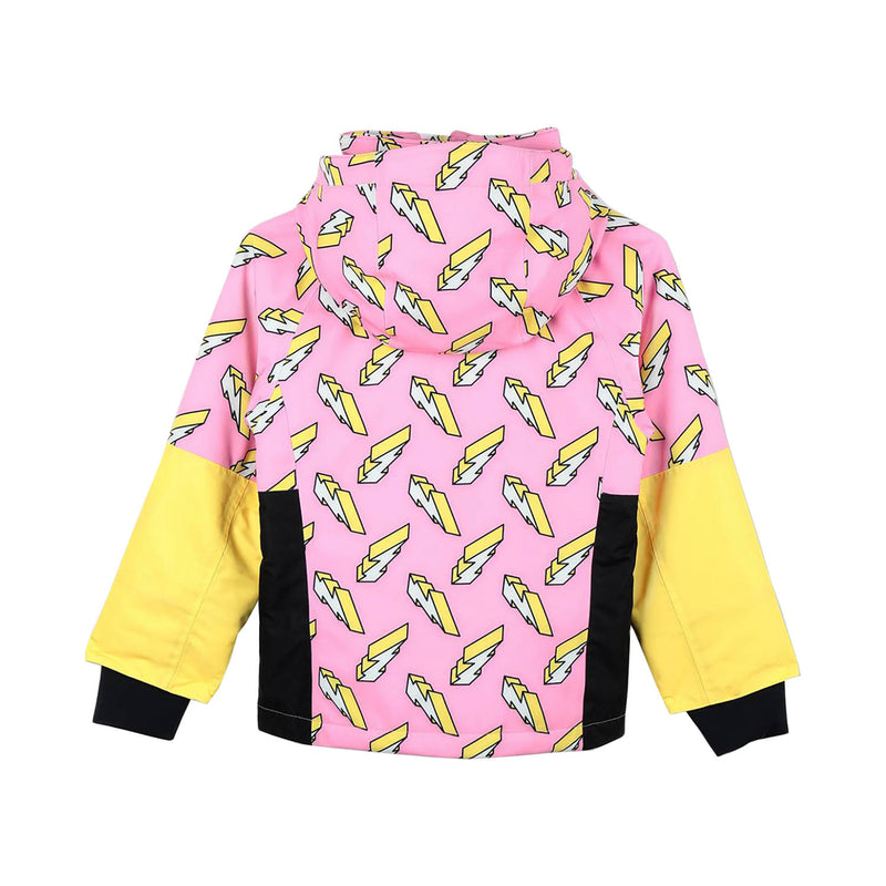 Stella McCartney Kids 3D Lightning Ski Jacket
