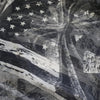 Chrome Hearts Cross American Flag Silk Scarf