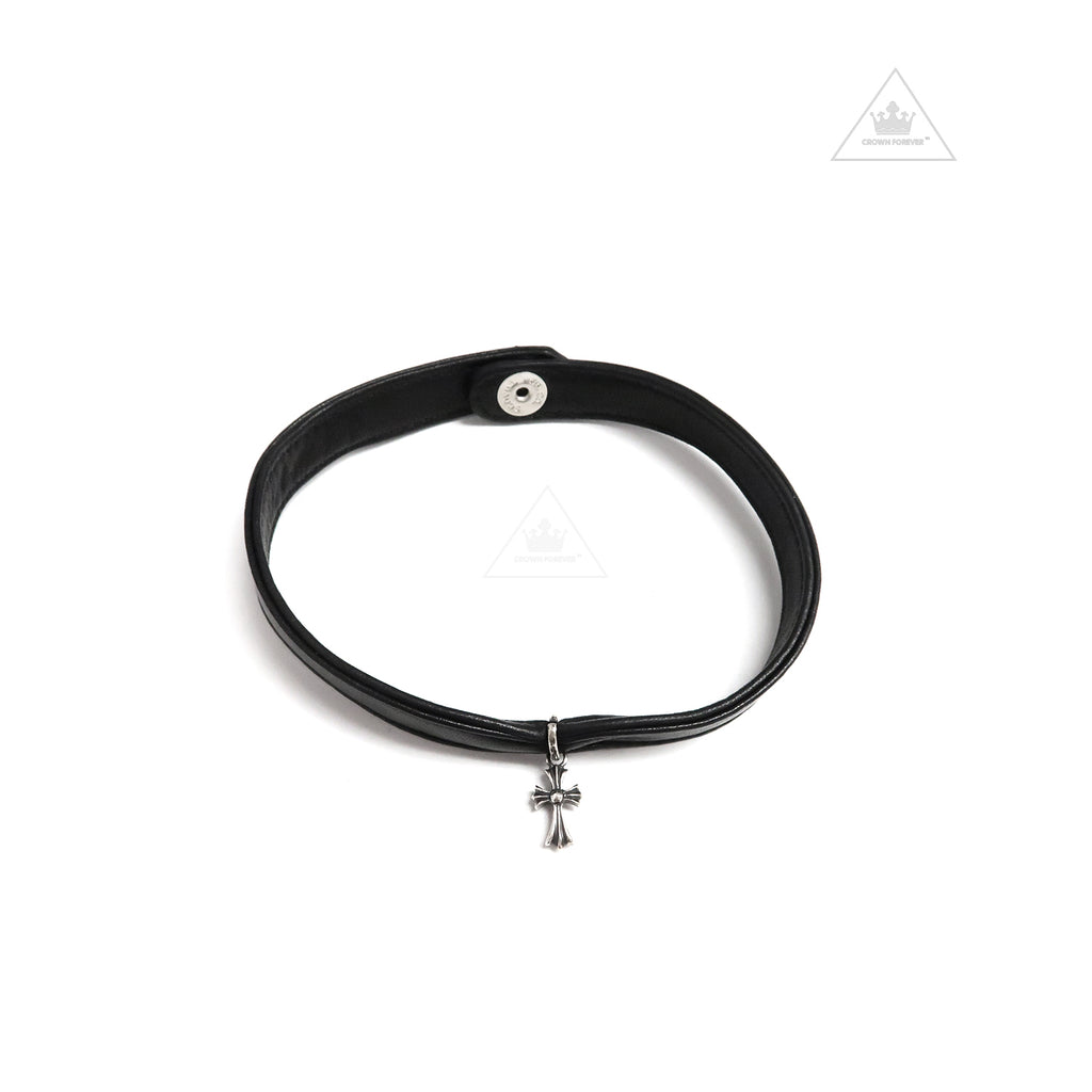 Chrome Hearts Babyfat Leather Choker