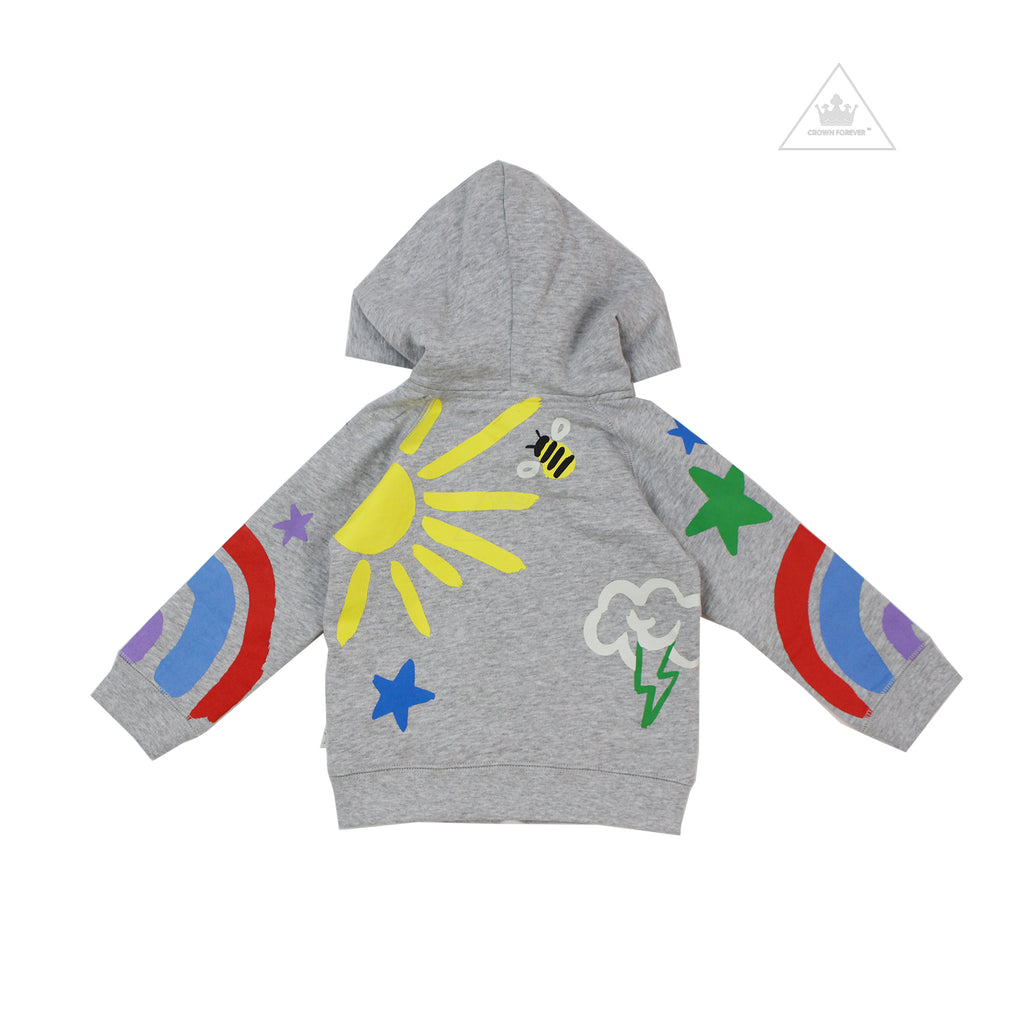 Stella McCartney Kids Baby Crayon Weather Hoodie And Jogger Set