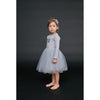 Petite Hailey Tutu Star Dress LS-Grey