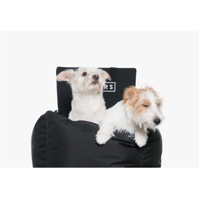 Woof by Betters Barrels Dog Car Seat Set (Ivory)