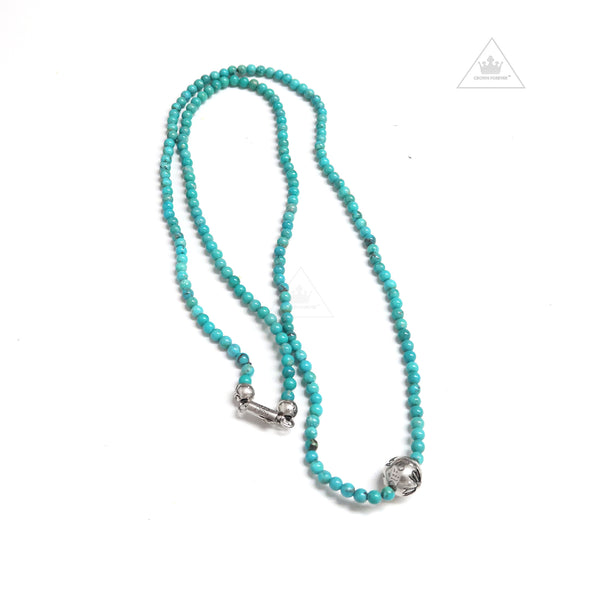 Chrome hearts necklaces pendants crown forever chrome hearts bead 4mm v2 necklace aloadofball Gallery