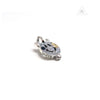 Bill Wall Leather C367GR Charm Blue Zircon