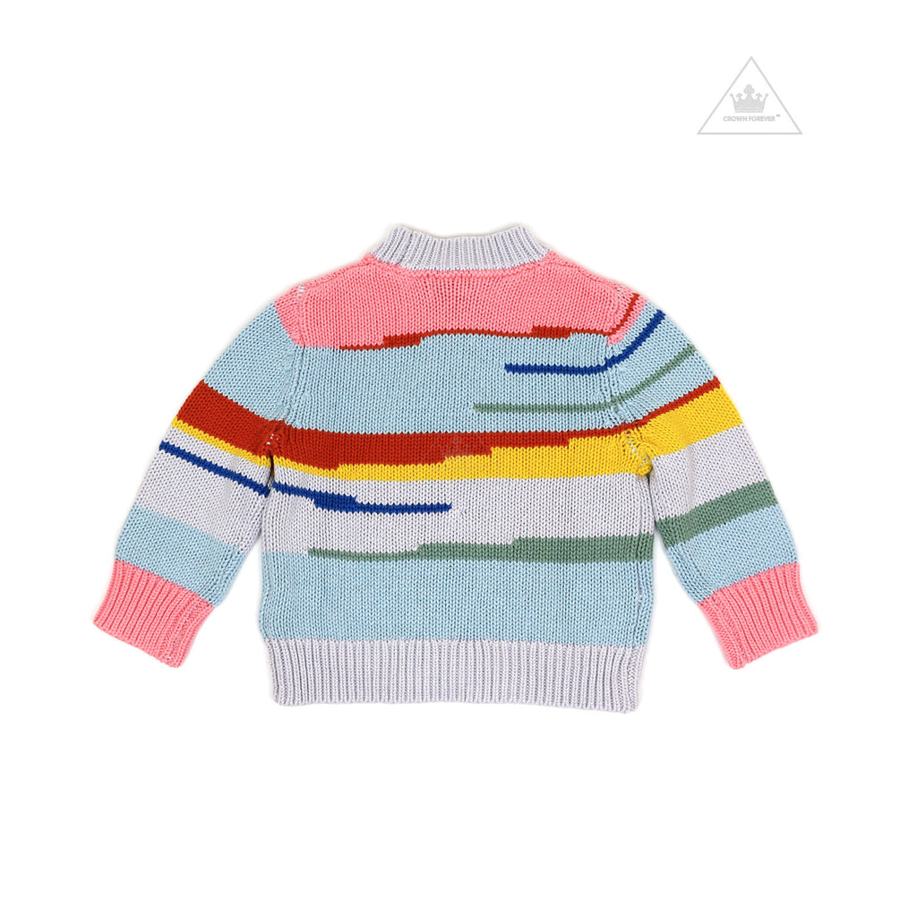 Stella McCartney Kids Multicolor Stripes Jumper