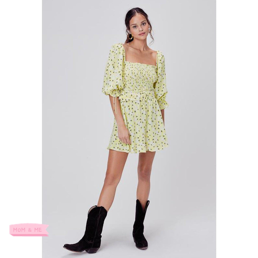 For Love and Lemons Chrysanthemum Mini Dress