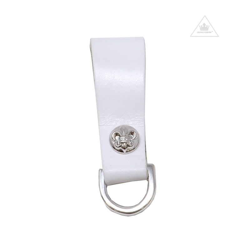Chrome Hearts BS Fleur Belt Loop with D Ring
