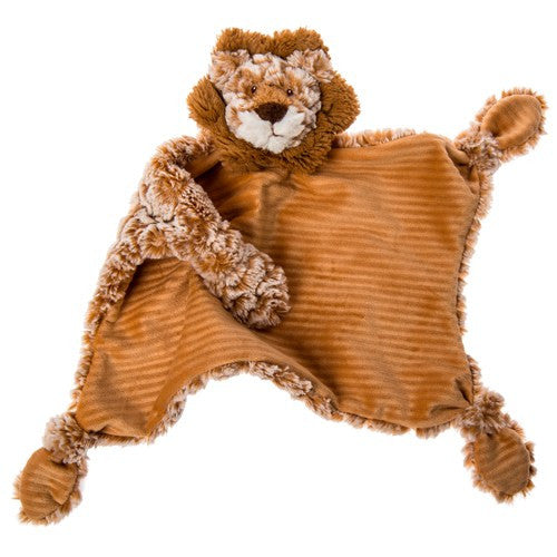Mary Meyer Toys Afrique Lion Character Blanket – 13×13″