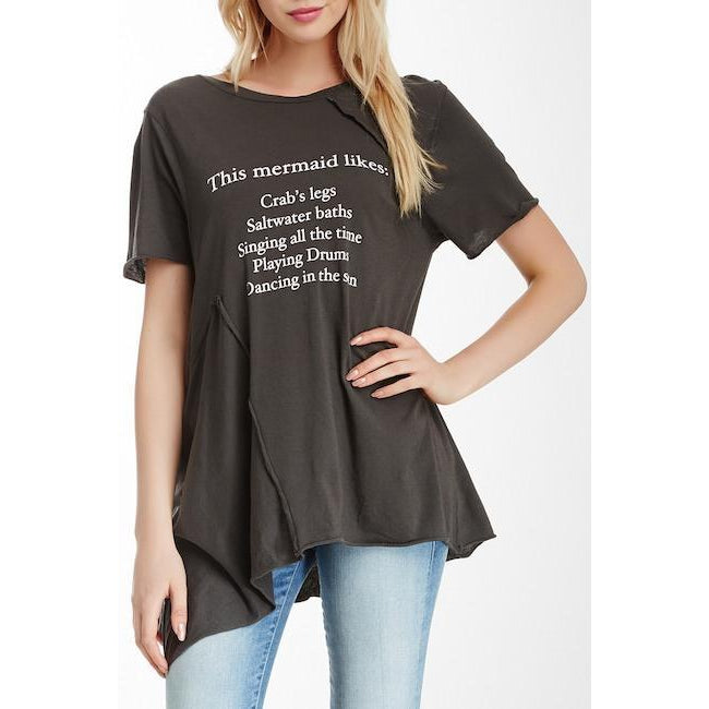 Wildfox Couture This Mermaid Likes Tee