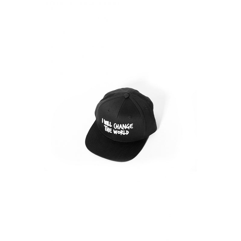 Sometime Soon World Cap Black