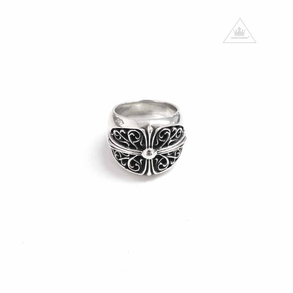 Chrome Hearts Oval Cross Ring