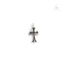 Chrome Hearts Hearts Cross Charm Black Gemstone