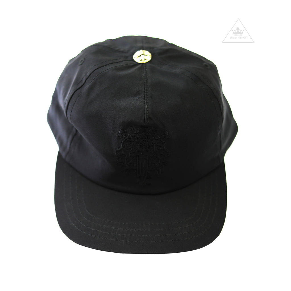 Chrome Hearts Dagger Slouchy 5 Panel Silk Hat - Black