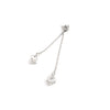 Chrome Hearts Heart Double Dice CH+ Earring