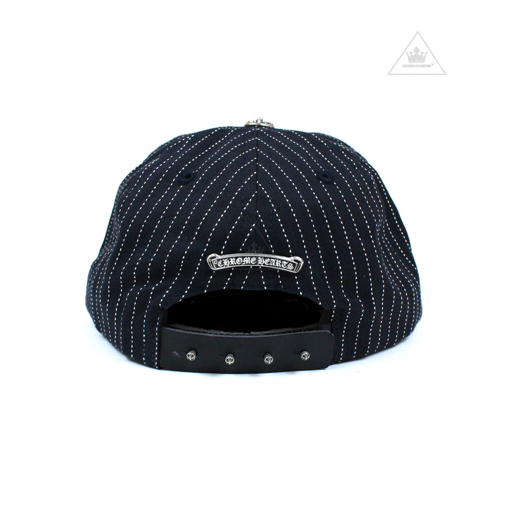Chrome Hearts Leather Brim Dagger Baseball Cap