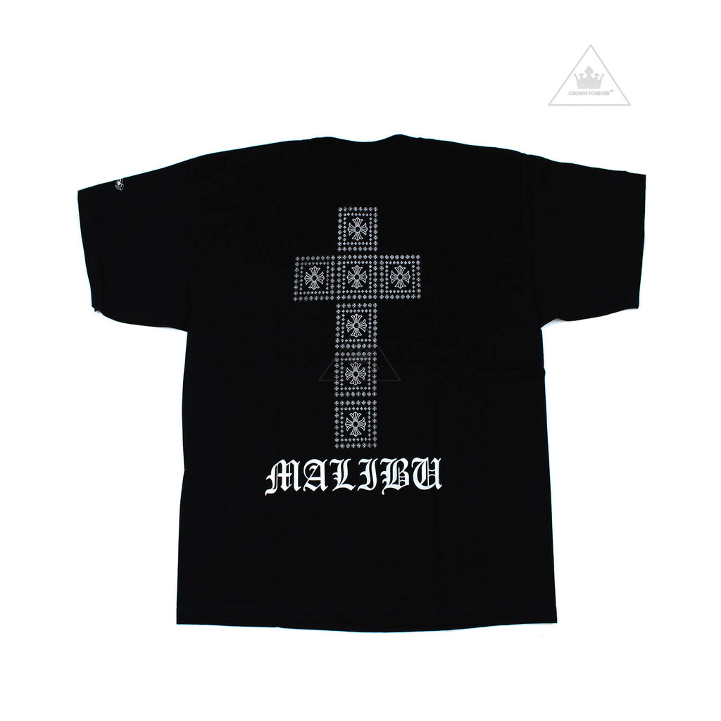 Chrome Hearts Classic Malibu Square Cross T-Shirt