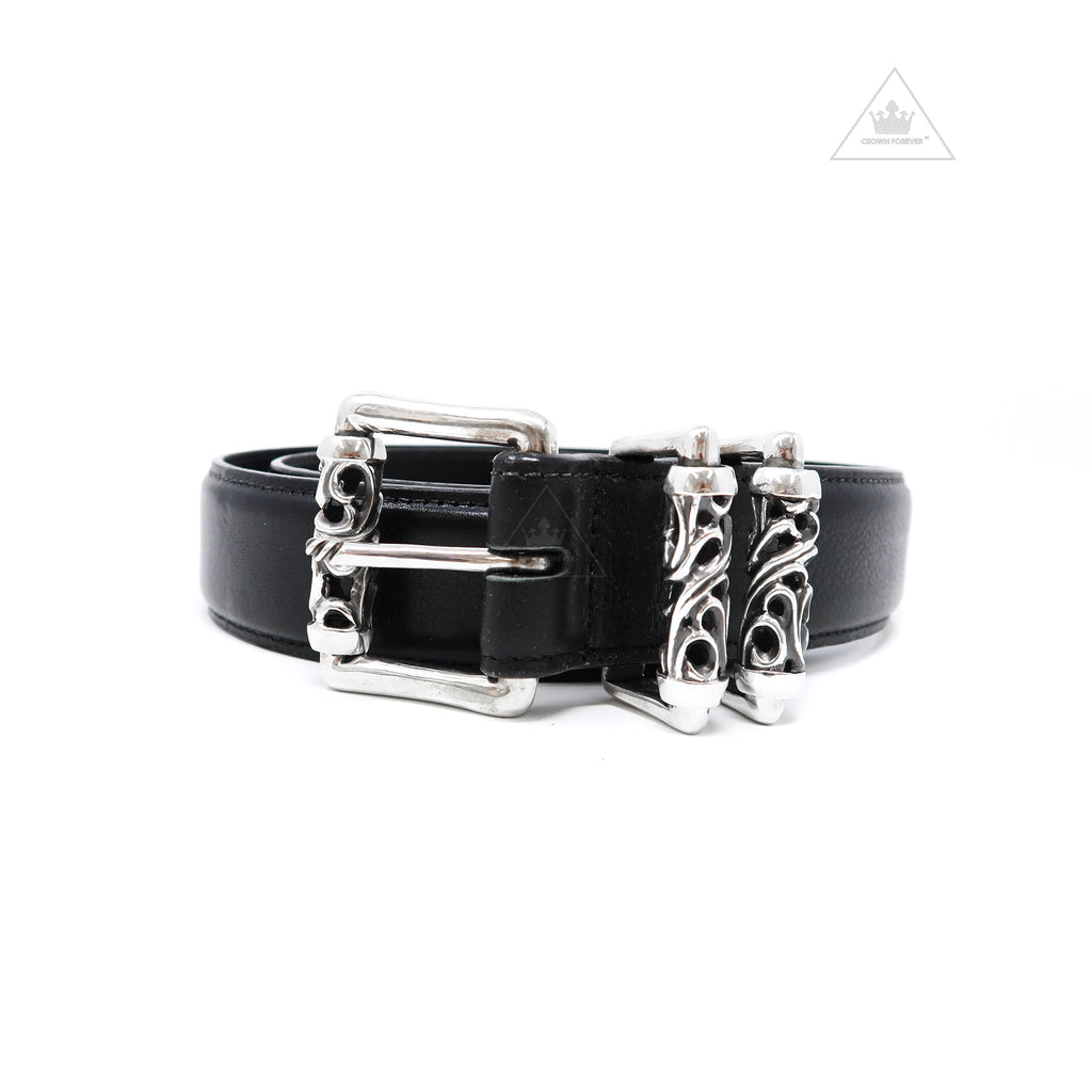Chrome Hearts Roller Belt 3 Piece 1.5 Inches