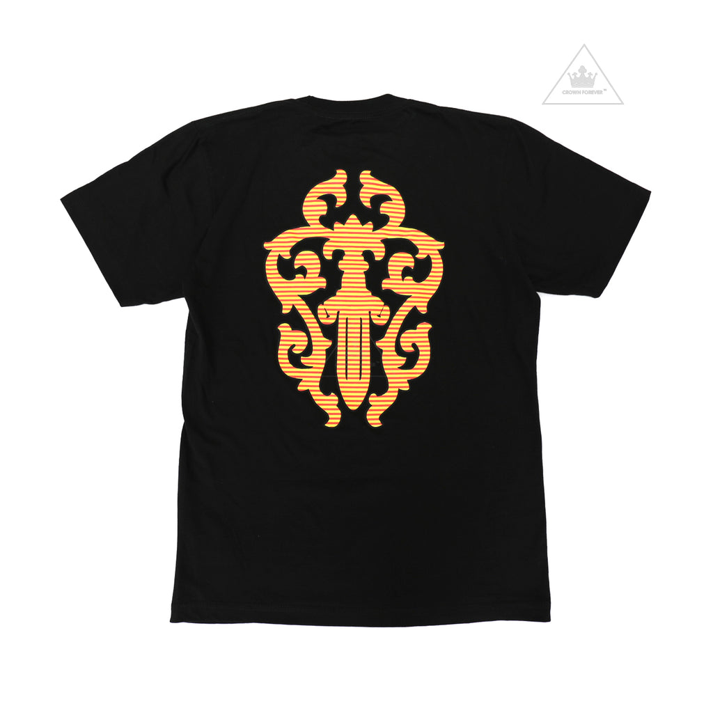 Chrome Hearts Yellow Tagger Tee