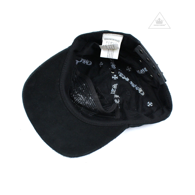 CH 5 Panel Suede Leather Cap