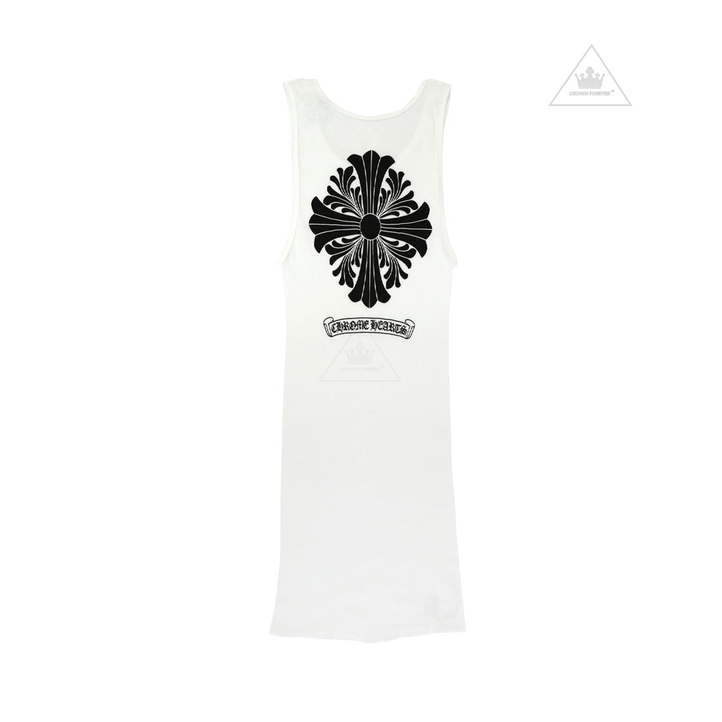 f0b8e66f33e5a Chrome Hearts Floral Cross Tank Top – Crown Forever