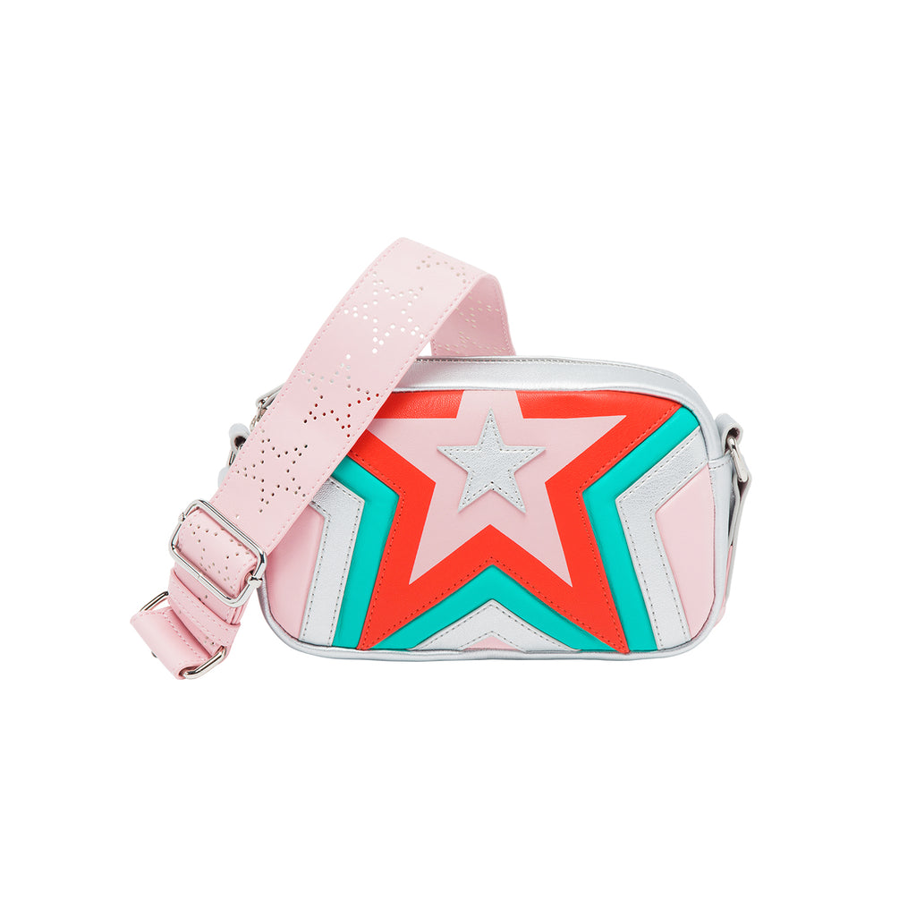 Stella McCartney Kids Girl Quilted Star Shoulder Bag