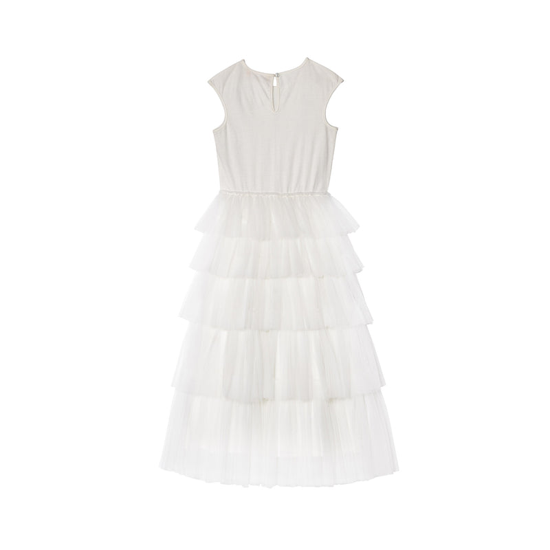 TuTu Du Monde Stellaria Long Tutu Dress Milk
