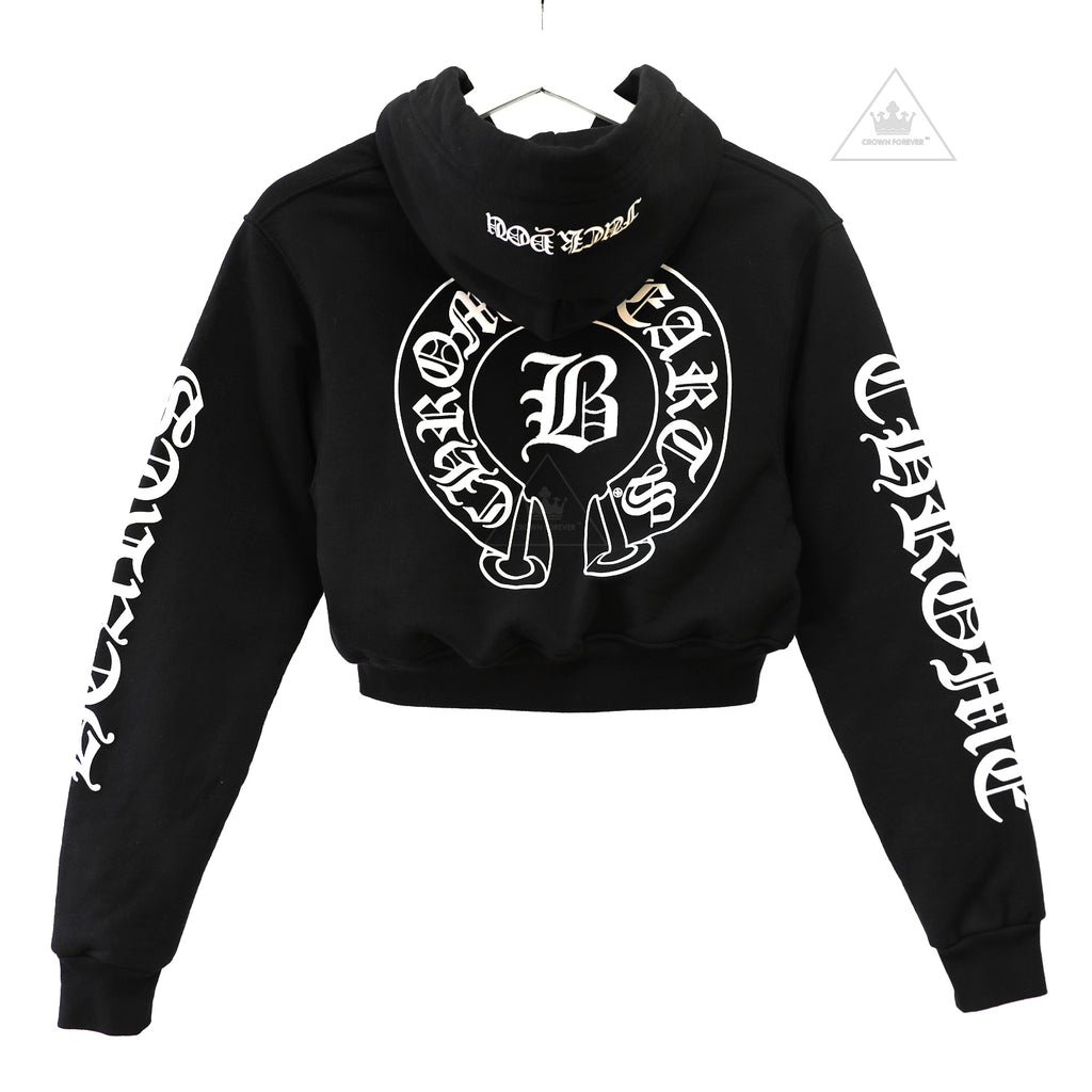ch limited womens bella hadid short hoodie � crown forever