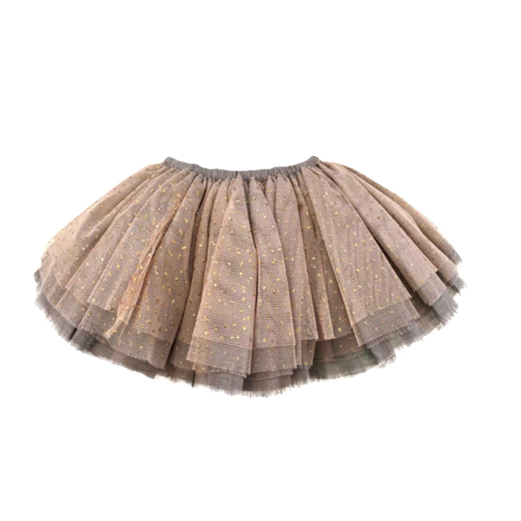 Oh Baby! Glinda Fairy Skirt - Champagne/Gold on Elephant