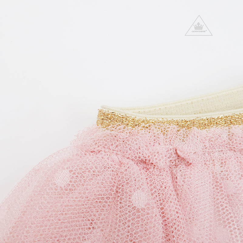 Petite Hailey Sha Tutu Leggings Pink