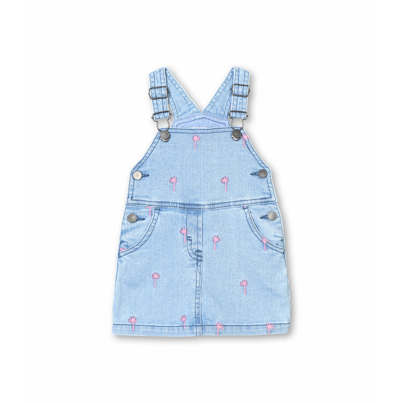 Stella McCartney Kids Embroidery Palms Dungarees