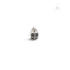 Chrome Hearts Pyramid Diamond Stud Earring