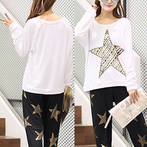 Lauren Moshi Star Long Sleeve