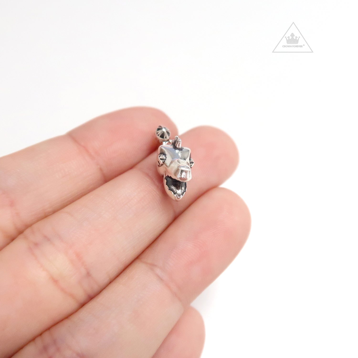 Chrome Hearts Dino Head Drop Earrings – Crown Forever