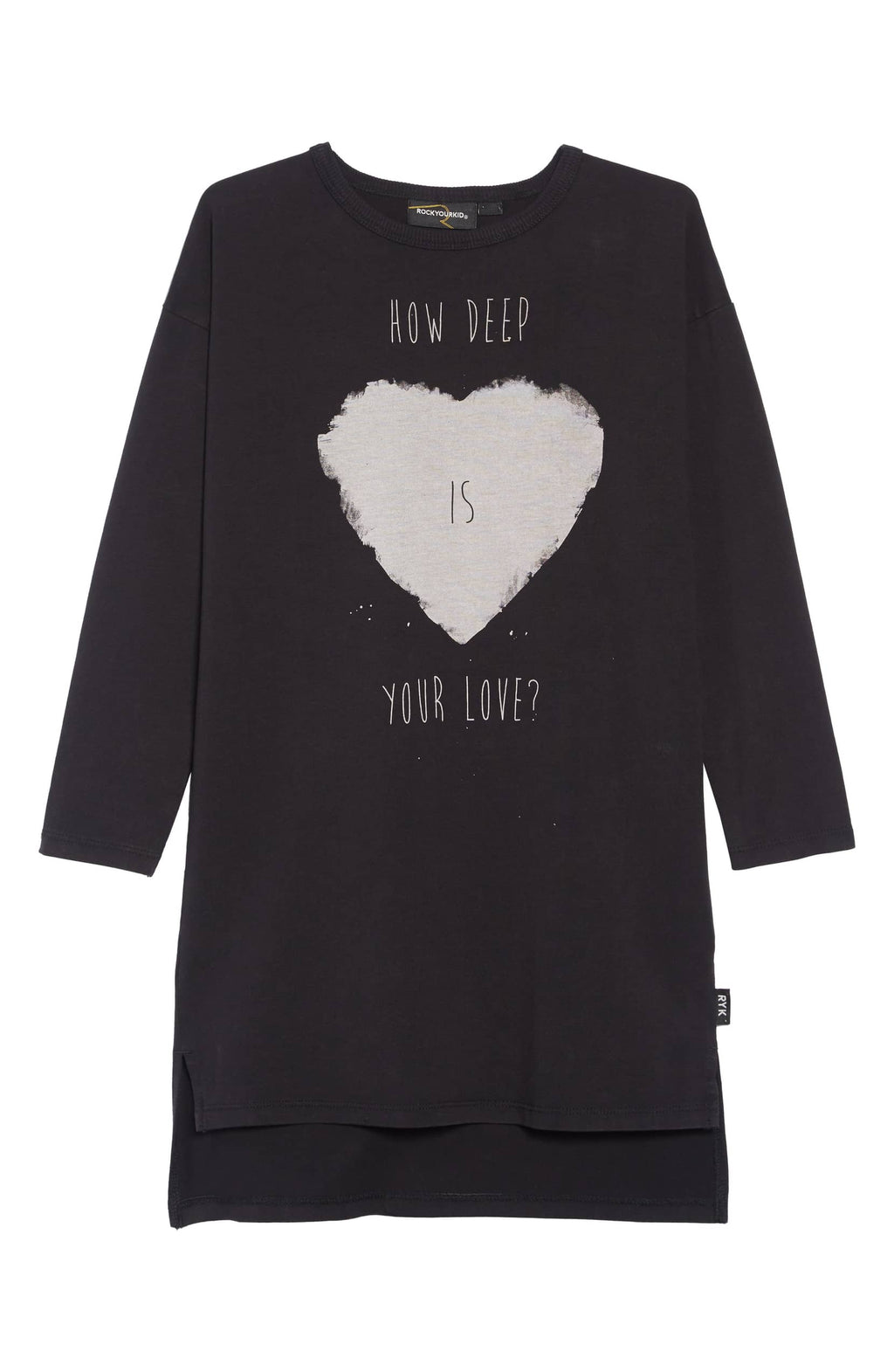 Rock Your Kid Your Love T-Shirt Dress