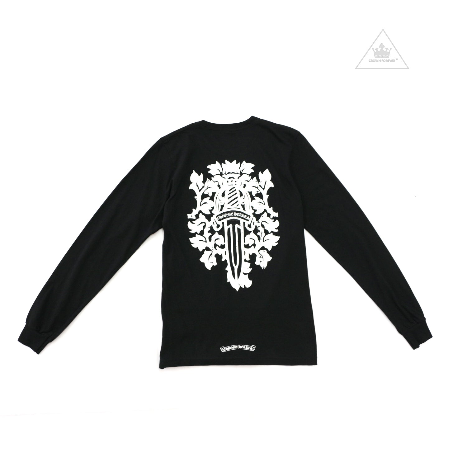 66fe4a2c206d CHROME HEARTS LONG SLEEVE T SHIRT – Page 3 – Crown Forever