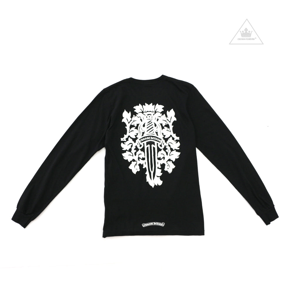 Chrome Hearts Dagger Long Sleeve Tee