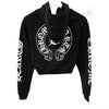 Chrome Hearts Limited Women's Bella Hadid Short Hoodie