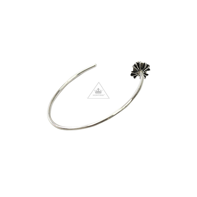 Chrome Hearts Hooped Cross Earring