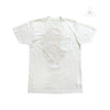 Chrome Hearts Yellow Hairy Dagger Yikes Stripe Tee White