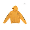 Chrome Hearts Yellow Pullover Script Hoodie