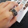 Chrome Hearts K & T Ring Large