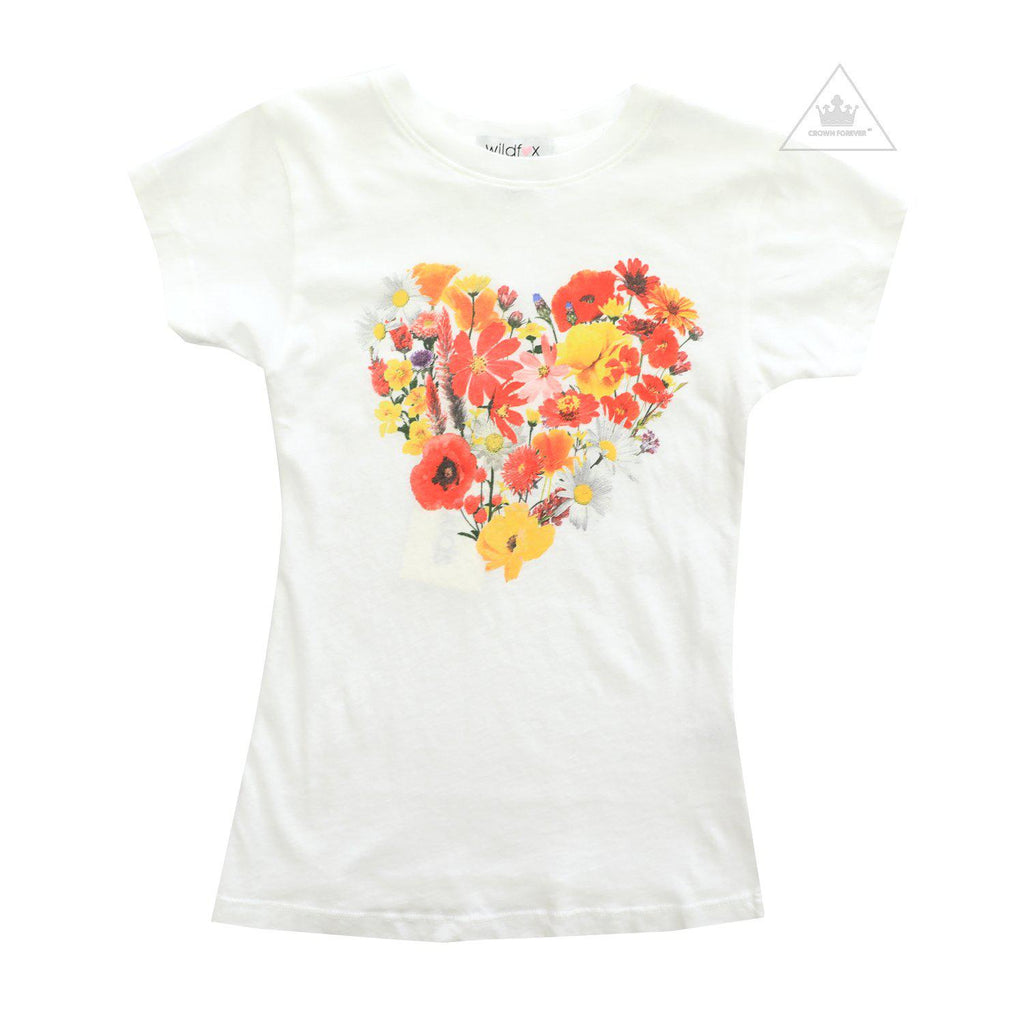 Wildfox Kids Blooming Heart