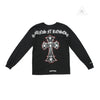 CH Guns and Roses Black Long Sleeve Tee