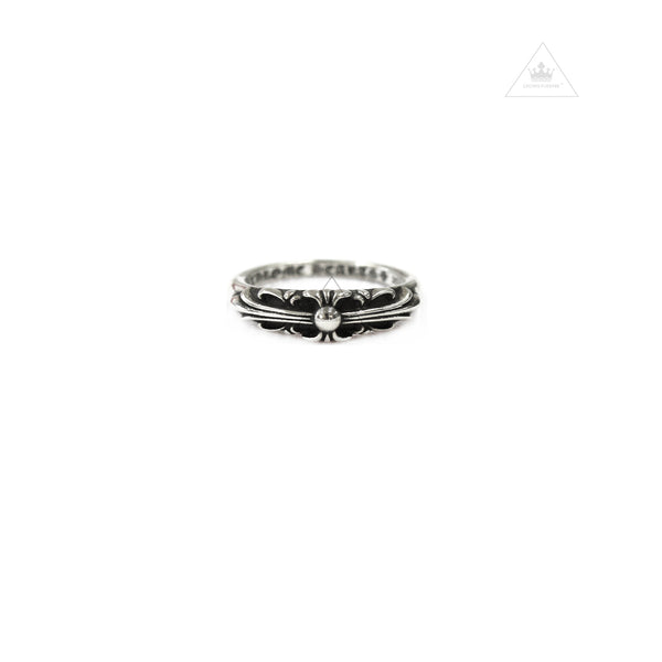 Chrome Hearts Baby Classic Floral Cross Ring
