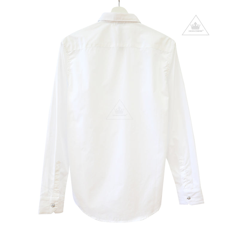 Chrome Hearts Limited White Dress Shirt